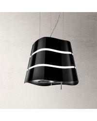 Elica Flow Black Ceiling Pendant Cooker Hoods