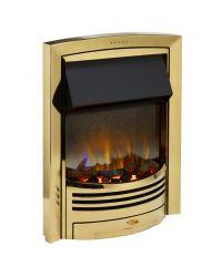 Dimplex Glencoe GLN20BR Optiflame 3D Inset Fire Brass
