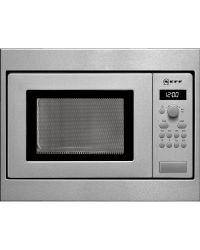 Neff H53W50N3GB Steel  Built in Microwave Oven