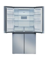 Hotpoint HQ9B1L1 Inox Look American Fridge Freezer