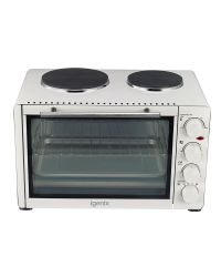Igenix IG7130 Table Top Mini Oven 30L with Boiling Rings