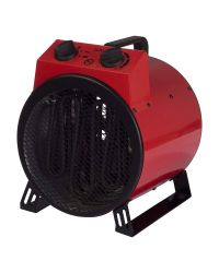 IGENIX IG9301 3kW Red Commercial Drum Heater