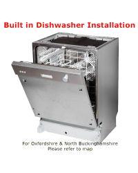 Built in Dishwasher Installation