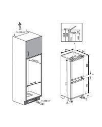 Integrated Fridge Freezer Installation