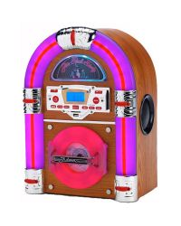 Steepletone Jive Rock Sixty Light Table Top Jukebox