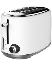 Linsar KY865WHITE 2 Slot Toaster White
