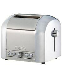 Magimix 11516 - Brushed 2 Slice Toaster