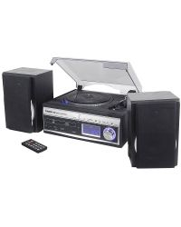 Steepletone Memphis 2 Record Player / Recorder 5 in 1 Music System