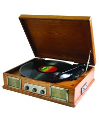 Steepletone USB Norwich Light Record Player