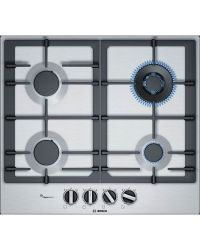 Bosch PCH6A5B90 Gas Hob in Stainless Steel