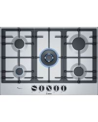 Bosch PCQ7A5B90 Stainless Gas Hob