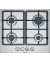 Bosch PGP6B5B90 Gas Hob in Stainless Steel