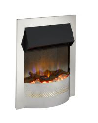 Dimplex Portree Optiflame 3D Electric Inset Fire Chrome