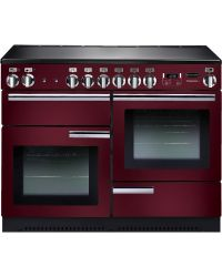 Rangemaster Professional + Range Cooker 110 Induction Cranberry PROP110EICY/C 91790