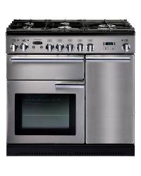 Rangemaster Professional + Range Cooker 90 Gas Stainless PROP90NGFSS/C 86870