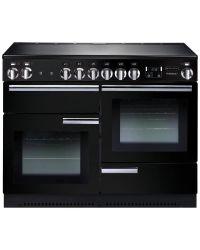 Rangemaster Professional+ Range Cooker 110 Ceramic Black PROP110ECGB/C 91880