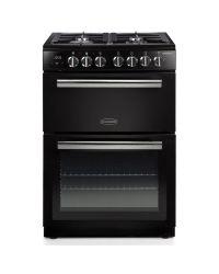 Rangemaster PROPL60DFFBL/C Professional+ 60cm Black Dual Fuel Cooker