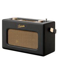 Roberts RD70 DAB+/DAB/FM Radio with Bluetooth Alarm Black