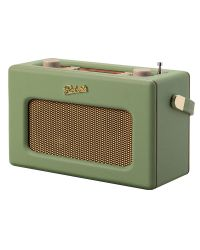 Roberts RD70 DAB+/DAB/FM Radio with Bluetooth and Alarm in Leaf Green