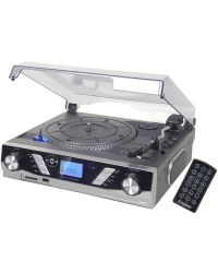 Steepletone ST930 PRO Record Player 3-Speed with MP3/USB-SD Recording