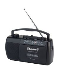 Steepletone SCR209 MW-FM Radio Cassette Player Recorder