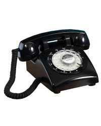 Steepletone STP1960 Black 1960s Retro Telephone