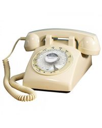 Steepletone STP1960 ivory 1960s Retro Telephone