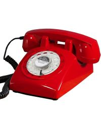 Steepletone STP1960  Red 1960s  Retro Telephone