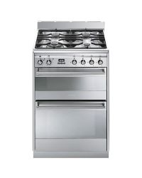 Smeg SUK62MX8 Double Oven Dual Fuel Cooker
