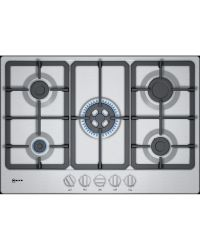 Neff T27BB59N0 Stainless Gas Hob