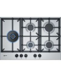 Neff T27DS79N0 Gas Hob Stainless