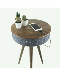 Steepletone TABBLUE Dark Table Speaker with Bluetooth connectivity