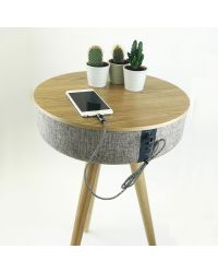 Steepletone TABBLUE Light Table Speaker with Bluetooth connectivity
