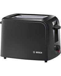 Bosch TAT3A0133G 2 Slot Toaster Black