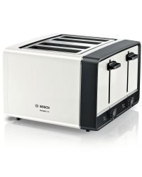 Bosch TAT5P441GB 4 Slice Toaster - White