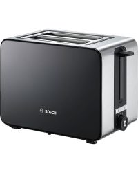 Bosch TAT7203GB 2 Slot Toaster Black