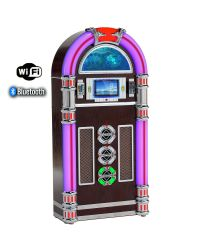 Steepletone Touch Rock 50 MW Dark Floor Standing Jukebox