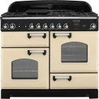 Rangemaster Classic Range Cooker 110 Dual Fuel Cream CLA110DFFCR/C 116790
