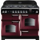 Rangemaster Classic Range Cooker 110 Dual Fuel Cranberry CLA110DFFCY/C 116800