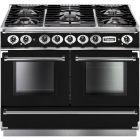Falcon Continental Range Cooker Dual Fuel Black FCON1092DFBL/CM-EU