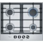 Bosch PCP6A5B90 Gas Hob in Stainless Steel