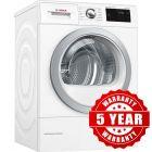 Bosch WTWH7660GB 9Kg Heat Pump Condenser Dryer #JUST-EAT-VOUCHER