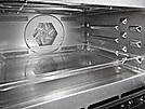 Cooking compartment has Perfect Clean and linen structure