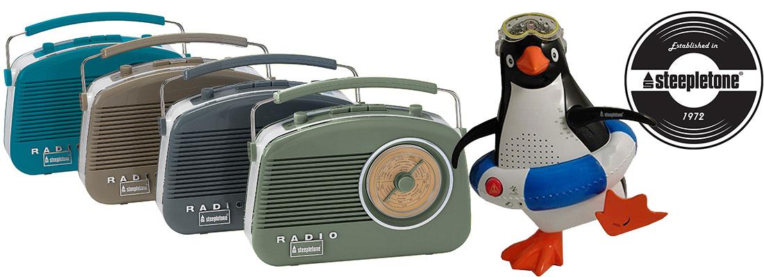 Steepletone Radios