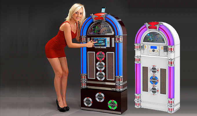 Steepletone Jukeboxes