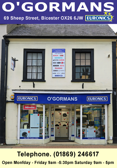 O'Gormans Bicester Oxfordshire