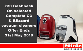 Miele Vacuum Cleaner Cashback