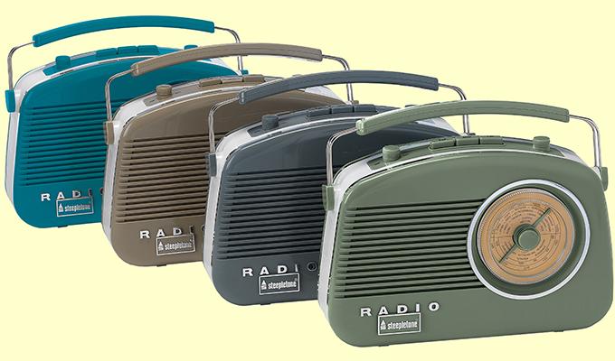Steepletone Brighton Retro Radios