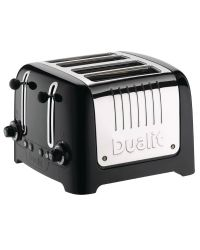 Dualit 46205 4 Slice Lite Toaster Black