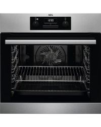 AEG BES25101LM Built In Electric Steam Bake Single Oven